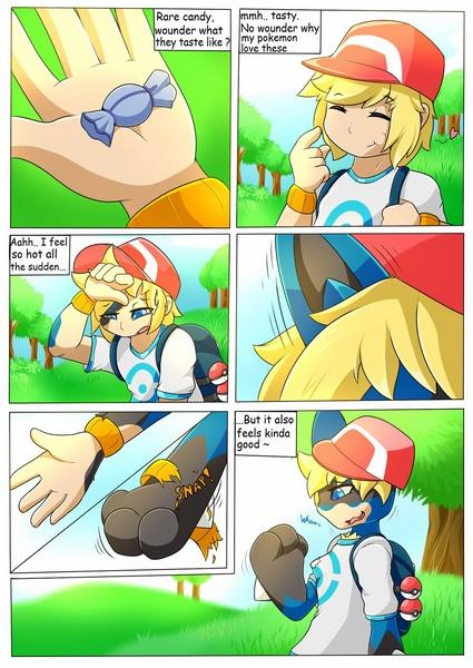 Lucario TF Comic (Pokemon)