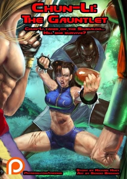Chun-Li – The Gauntlet- infocover