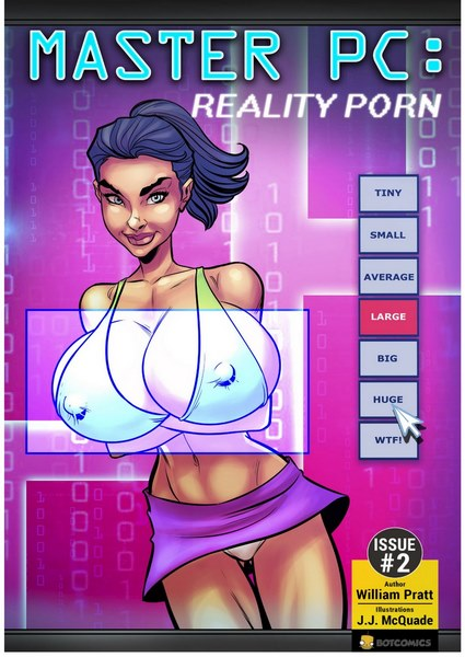 Bot- Master PC – Reality Porn Issue #2- infocover