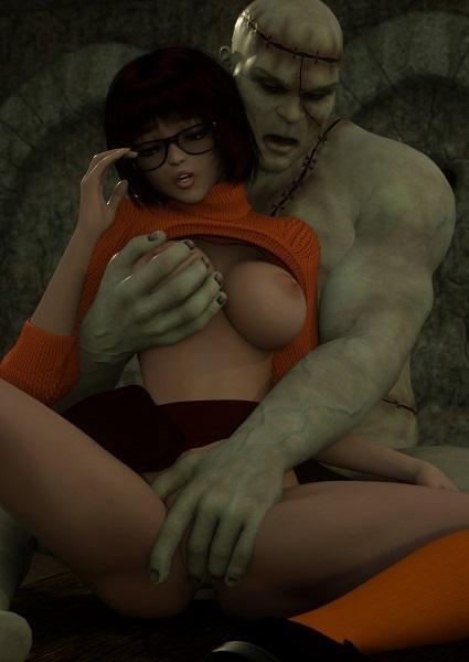 Zafo- Velma Halloween [Scooby-Doo]- infocover
