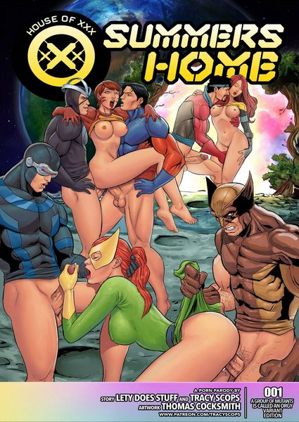Tracy Scops-House Of XXX – Summer Home- infocover