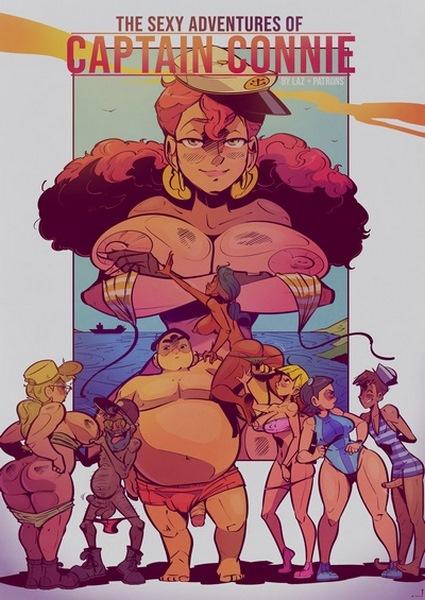 Laz – Captain Connie- infocover