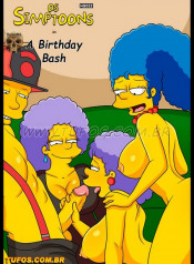 Os Simptoons 18- The Birthday Bash (my.porncomix Cover)