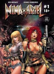 Nina & Ariel- Fred Benes (my.porncomix Cover)