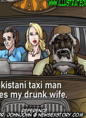 Illustratedinterracial – Pakistani Taxi Man