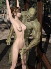 3DArtgirls- Elven Princess Taken