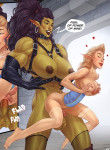 [Rino99] Captive of the Orcs (Futa)